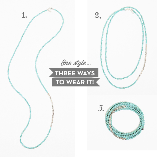 1 Style… 3 Ways To Wear It!